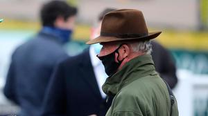 The Willie Mullins-trained Energumene runs in tomorrow's Ryanair Novice Chase at Punchestown.