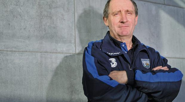 14 May 2012; In attendance of the launch of the Munster GAA Hurling and Football Championships 2012 is Waterford hurling manager Michael Ryan. Mallow GAA Complex, Mallow, Co. Cork. Picture credit: Barry Cregg / SPORTSFILE
