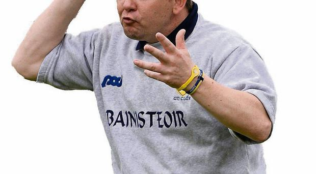 Clare manager Davy Fitzgerald. Photo: Ray McManus/Sportsfile.