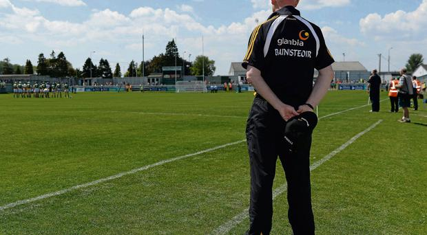Kilkenny boss Brian Cody watched his All-Ireland champions struggle against Dublin last weekend