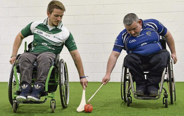 Daniel Jordan, left, Leinster and Steven Casey, Munster