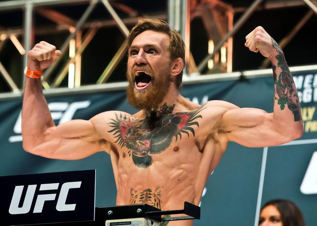 Ed was said to be inspired by Conor McGregor's tiger tattoo