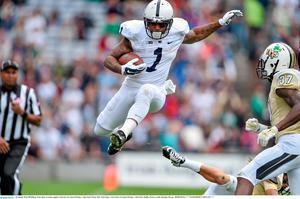 Bill Belton, Penn State, in action against University of Central Florida