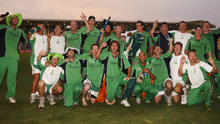 Ireland at the 2007 World Cup: 'Beating Pakistan, and Bangladesh, were true giant-killings by a team of postmen, farmers, teachers and just one professional.' Photo: Pat Murphy