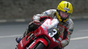 Joey Dunlop was in dominant form at the Isle of Man TT just weeks before his death. Photo: Stephen Davison