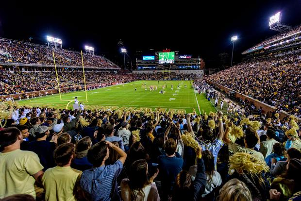 The Bobby Dodd Stadium home of Georgia Tech who will face Boston College in the 2016 Aer Lingus College Football Classic at the Aviva Stadium next September