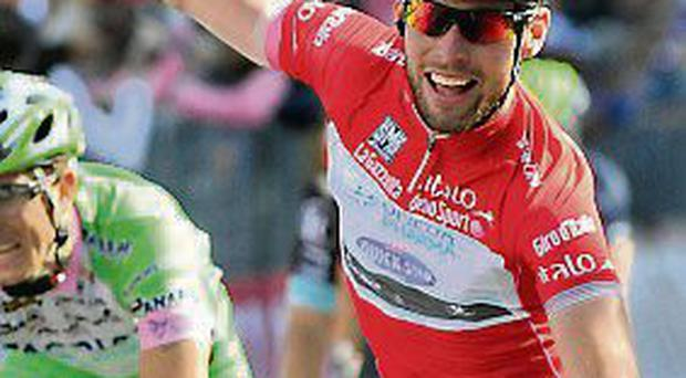 Mark Cavendish vented his frustrations