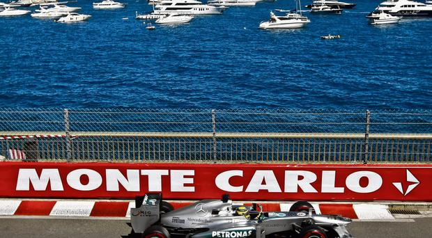 Nico Rosberg follows in his father's footsteps with a win in the highly-prized Monaco Grand Prix