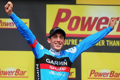 Dan Martin rides for the Garmin-Sharp team