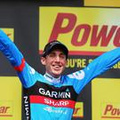 Dan Martin is closing in on another podium finish