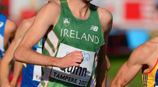 Waterford's Shane Quinn came agonisingly close to winning a medal