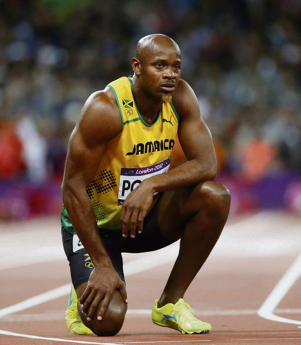 Indeed Jamaica has been under duress after Asafa Powell (above), Veronica Campbell-Brown and Sherone Simpson tested positive
