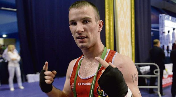 John Joe Nevin had been originally selected on the Irish boxing team