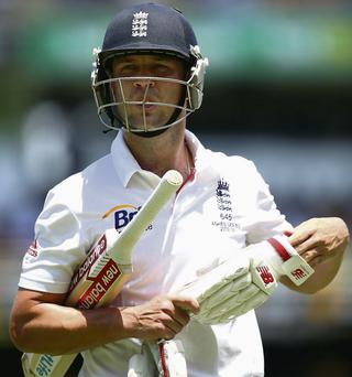 Jonathan Trott left the Ashes tour due to a stress-related illness