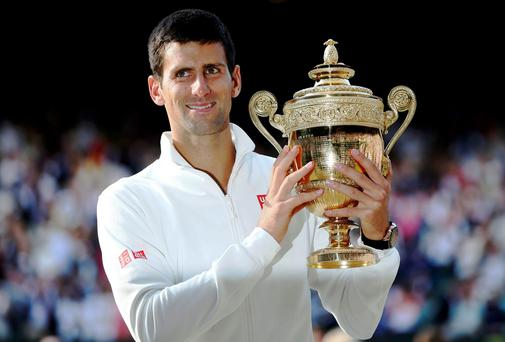Novak Djokovic earned £1.76m for his Wimbledon victory last year. This year's winner will take home £1.88 (€2.2m) for winning the tournament.