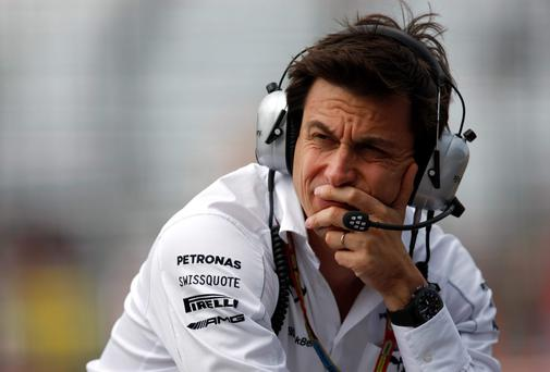 Mercedes GP Executive Director Toto Wolff