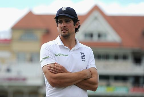 England cricket captain Alastair Cook