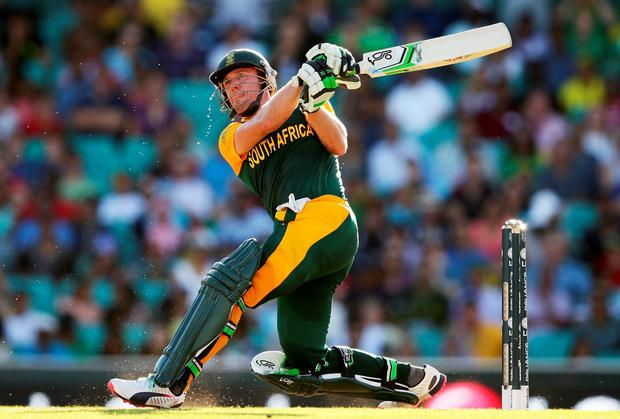 AB de Villiers of South Africa