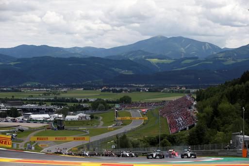 The Austria Grand Prix circuit