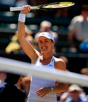 Hingis and Mirza will face the second-seeded Russian duo of Ekaterina Makarova and Elena Vesnina in the final