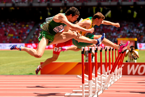 Ireland's Ben Reynolds in action at the World Championships in Beijing