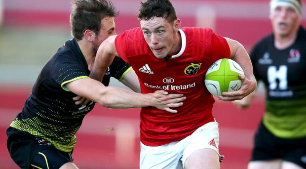 Munster/U-20 development squad captain Colm Hogan scored two tries against Ulster last wee Underage Interpros Picture: INPHO/Tommy Dickson