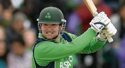 Ireland opener Paul Stirling had smashed 49 from 20 balls in the T20 series. Photo: Oliver McVeigh/Sportsfile