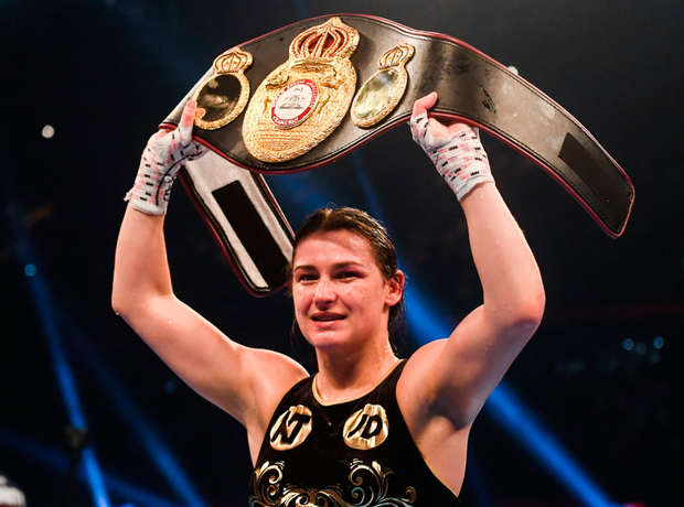 Katie Taylor Pic: Sportsfile