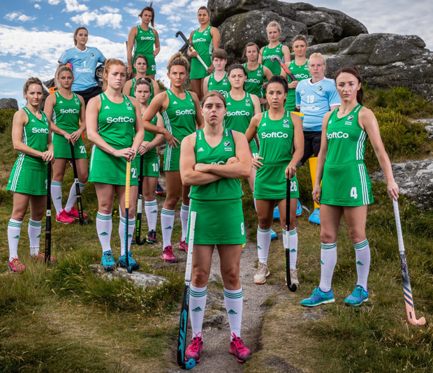 Ireland's women face India today, with a semi-final spot at stake. Photo: INPHO