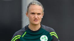Ireland's Gaby Lewis. Photo: Sportsfile