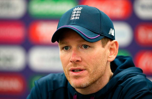 England's Eoin Morgan. Photo: PA