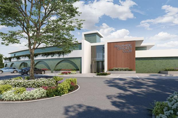Cricket Ireland has decided to build its own stadium in Abbotstown with Malahide Cricket Club now planning to build a new pavilion and other facilities
