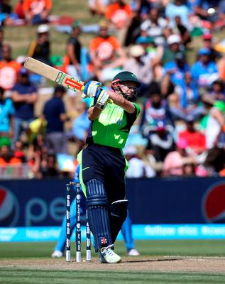 Ireland's William Porterfield echoed fans on social media by complaining that his side hadn't stretched the world champions India enough