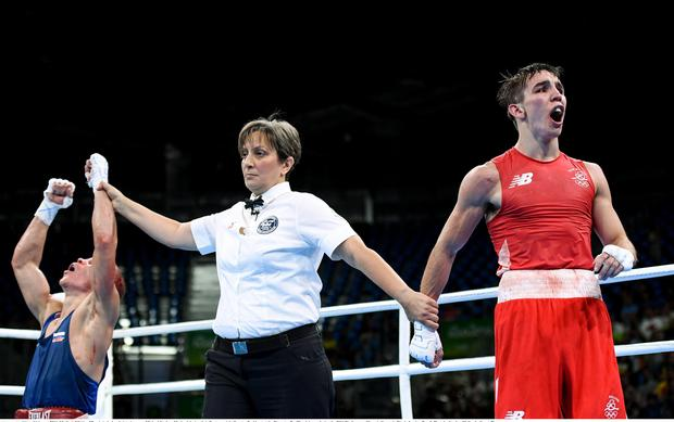 Michael Conlan was on the wrong end of a controversial decision at the 2016 Olympics.