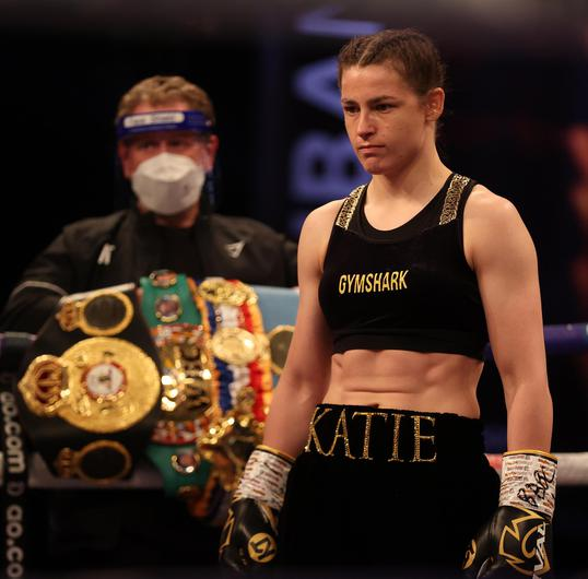 Katie Taylor is still waiting for an opportunity to fight Amanda Serrano. Image credit: Sportsfile.