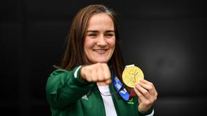 Kellie Harrington will remain in the amateur ranks until the 2024 Paris Olympics. Photo: Seb Daly/Sportsfile