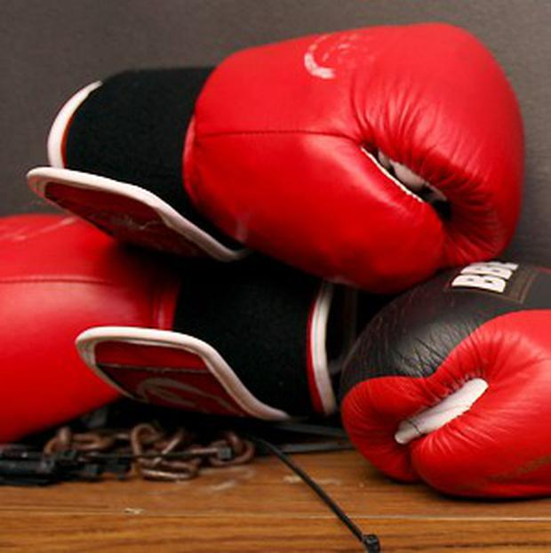'The Sweet Science - Boxing and Boxiana: A Ringside View was originally published in 1956. Liebling was by then a nationally prominent American journalist and author who among other adventures had covered the second World War in Africa and Europe, including the Normandy landings on D Day' (stock photo)