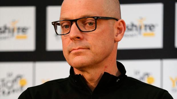 Beleaguered Team Sky boss David Brailsford Picture: PA