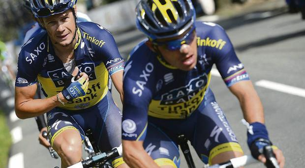 Nicolas Roche has really only got three days to get the maximum out of the Vuelta