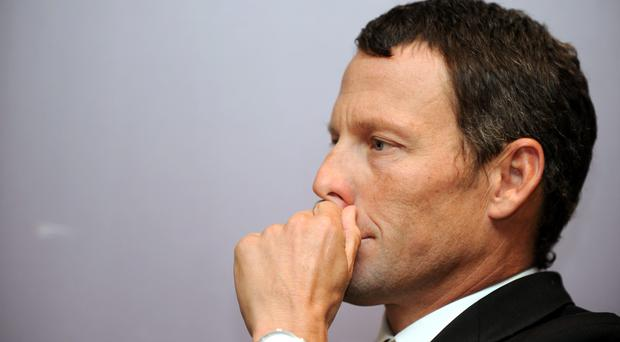 Lance Armstrong Picture: AFP/Getty