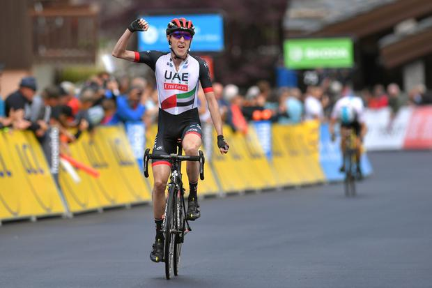 Dan Martin: 'I always say that the Giro is far more difficult physically than the Tour de France, but it's the mental strength that you need on the Tour'. Photo: Getty