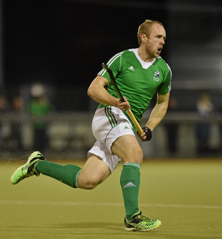 Monkstown beat struggling Annadale 5-2, with a hat-trick for international player Peter Caruth (pictured) Photo:Cody Glenn/Sportsfile