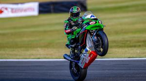 Jack Kennedy fought hard for a win in Race Two at Snetterton