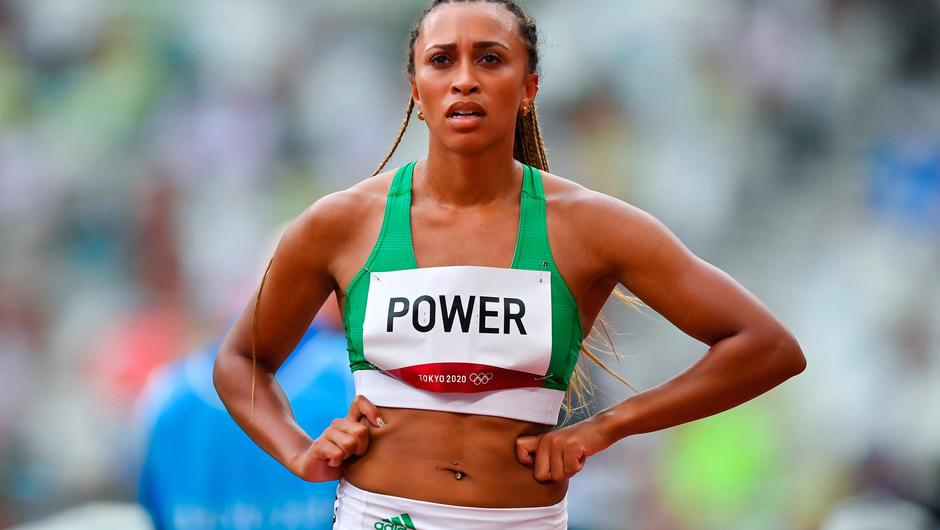 Nadia Power finished a disappointing seventh in her heat