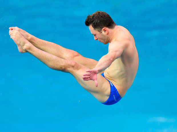 23-year-old Oliver Dingley previously won bronze for England at the 2014 Commonwealth Games in the same event he competes in today. Photo: Sportsfile
