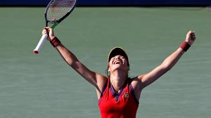 Britain's Emma Raducanu is through to the last 16 at the US Open
