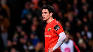 Joey Carbery has been ruled out for a number of months with an arm injury.