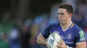 Recently retired Leinster player Eoin O'Malley