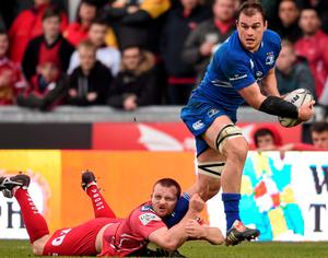 Rhys Ruddock's performance last weekend was one of the few positives for Leinster