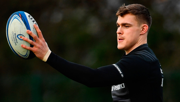 Garry Ringrose says he wouldn't be where is now without the support of his family. Photo: Sportsfile